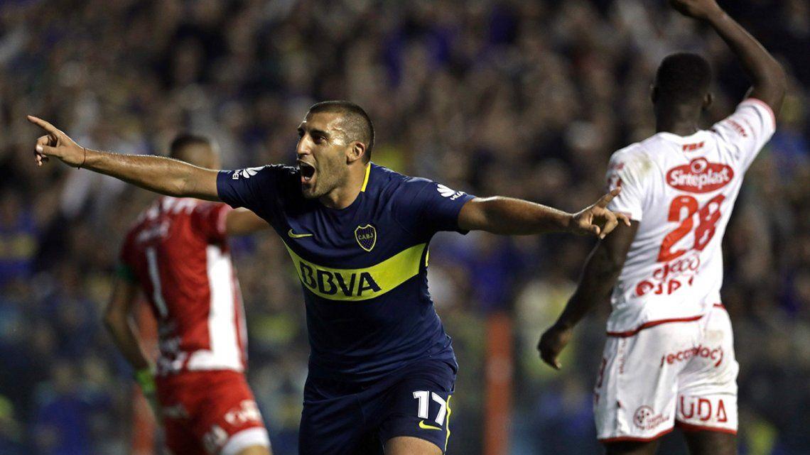 Fecha 26 Boca 2 Unión 0