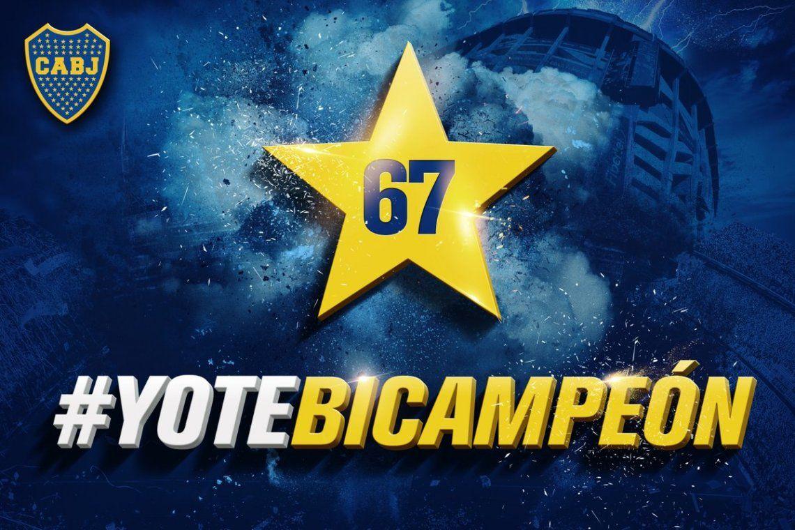 #YoTeBicampeon; el video oficial con el que Boca celebró el segundo título local consecutivo