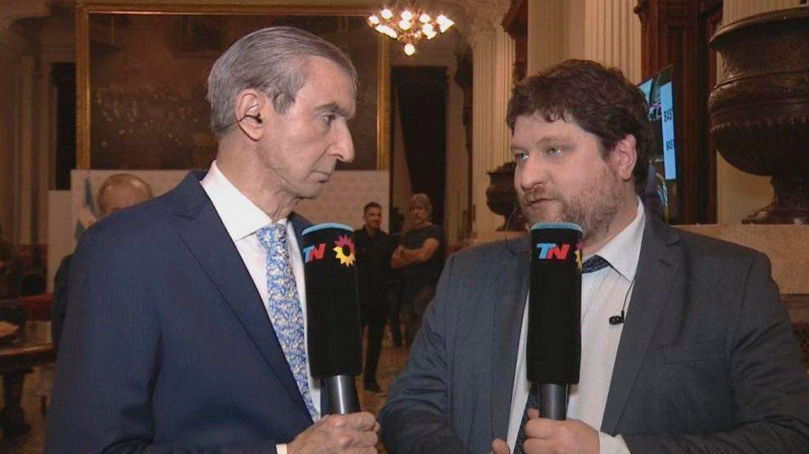 El periodista Nicolás Wiñazki denunció haber sido agredido en la manifestación contra el tarifazo