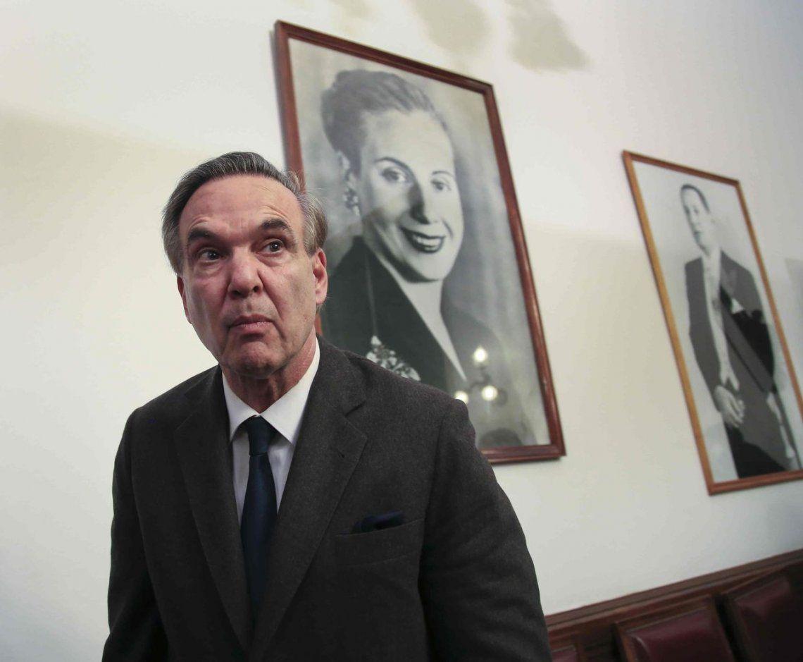 """Miguel Pichetto dijo que el Congreso """"nunca intervino de manera previa""""."""