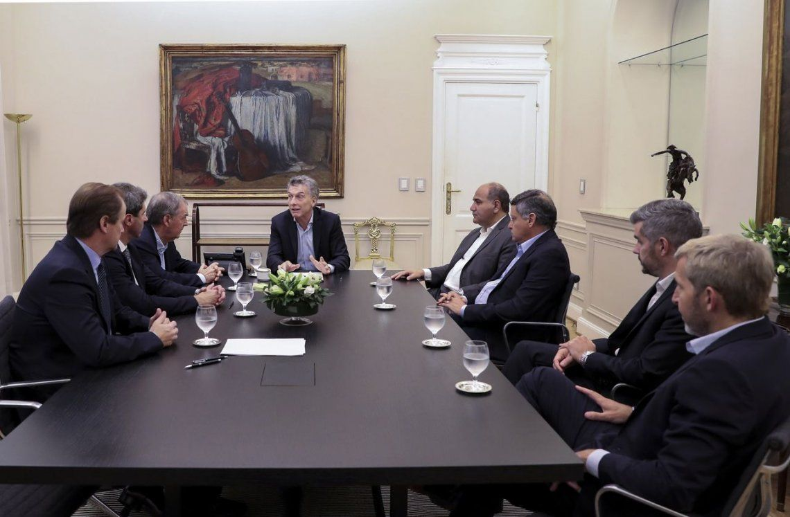 Macri recibió a Gobernadores y les detalló la negociación con el FMI