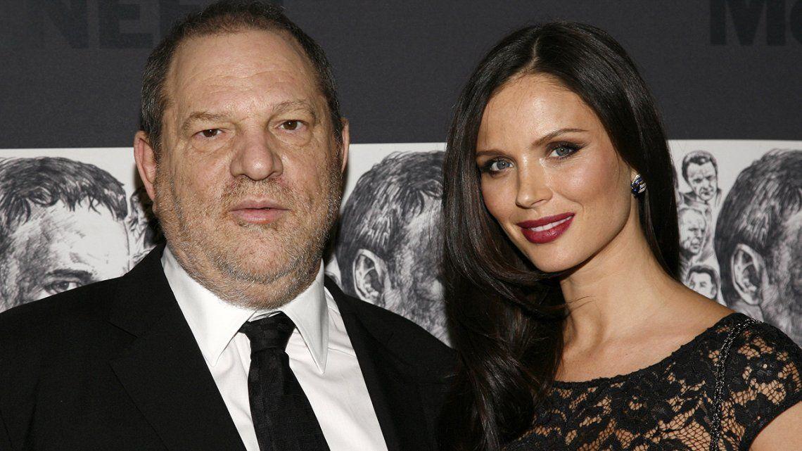 La esposa de Harvey Weinstein admitió haber sido terriblemente ingenua
