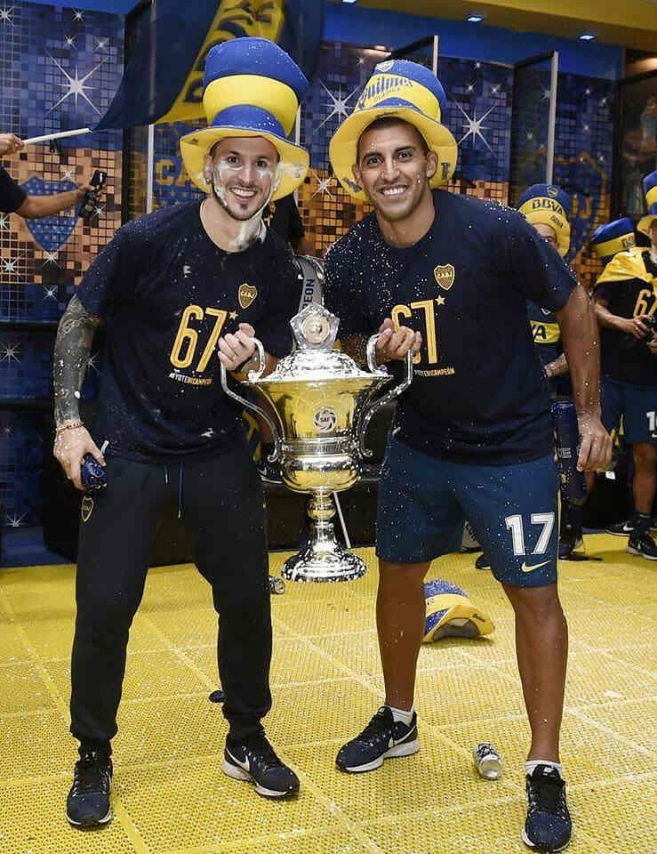 Con Pipa Benedetto y la Copa de la Superliga. ¿Se viene la dupla de goleadores en el torneo que viene?
