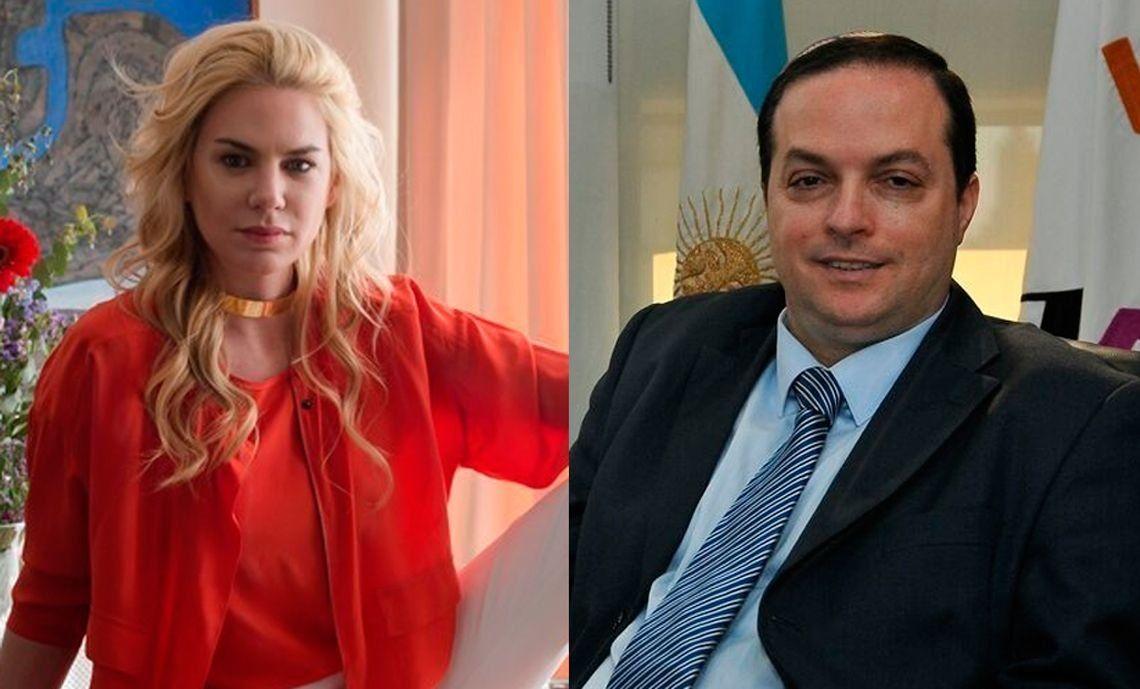 Esmeralda Mitre fue acusada de extorsión por Ariel Cohen Sabban
