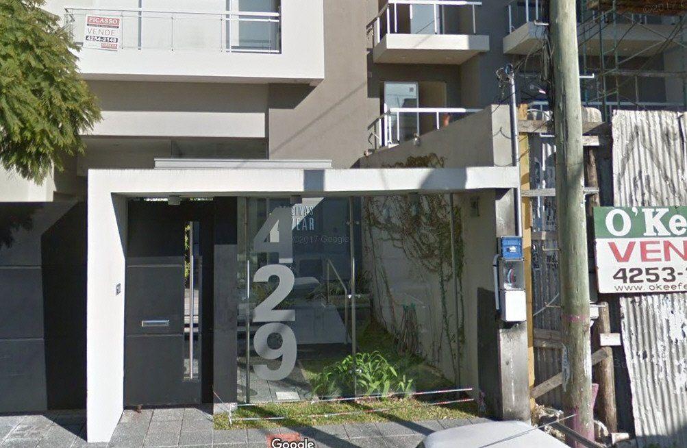 El edificio de Alvear al 400 (Quilmes) donde Villordo tiene una parte de sus oficinas.