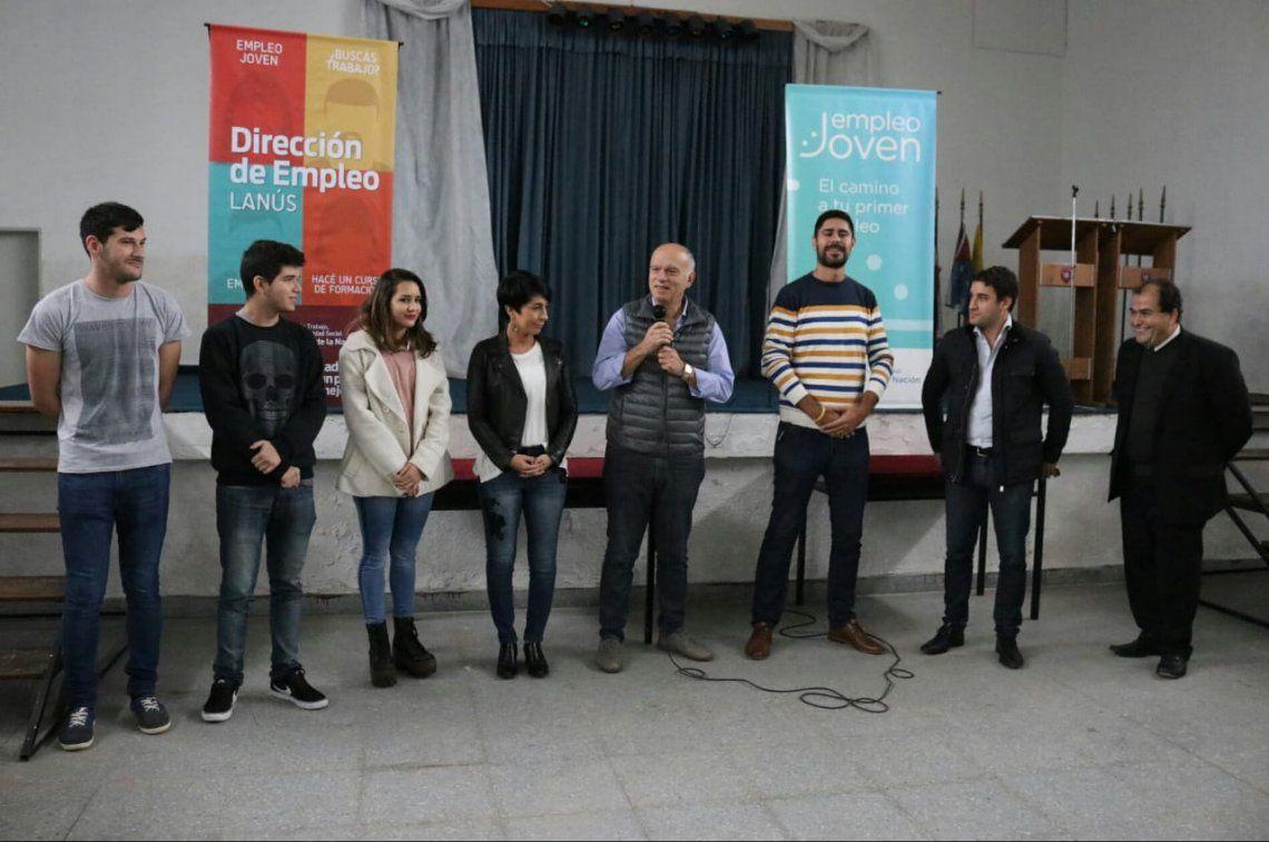 Alumnos de escuelas técnicas harán prácticas en el Municipio Lanús
