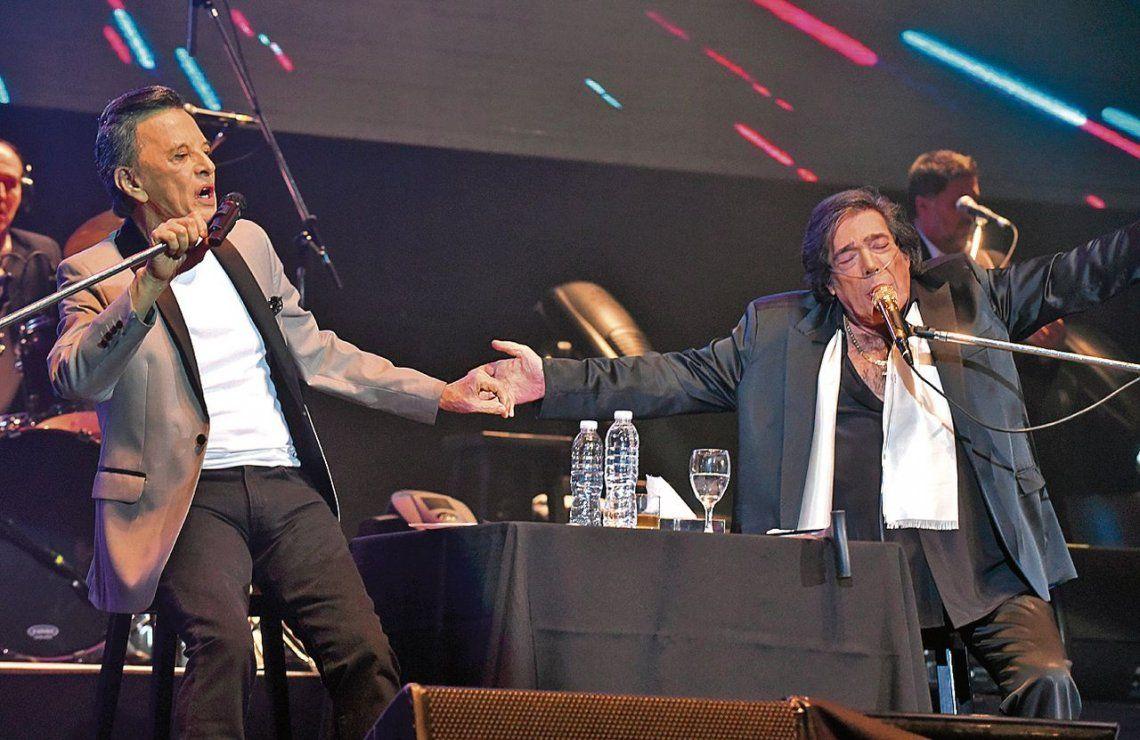 Cacho y Palito en el Luna Park: un canto a la amistad