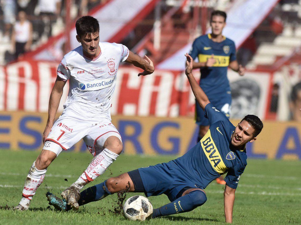 Huracán empató ante Boca en un partidazo y clasificó a la Libertadores