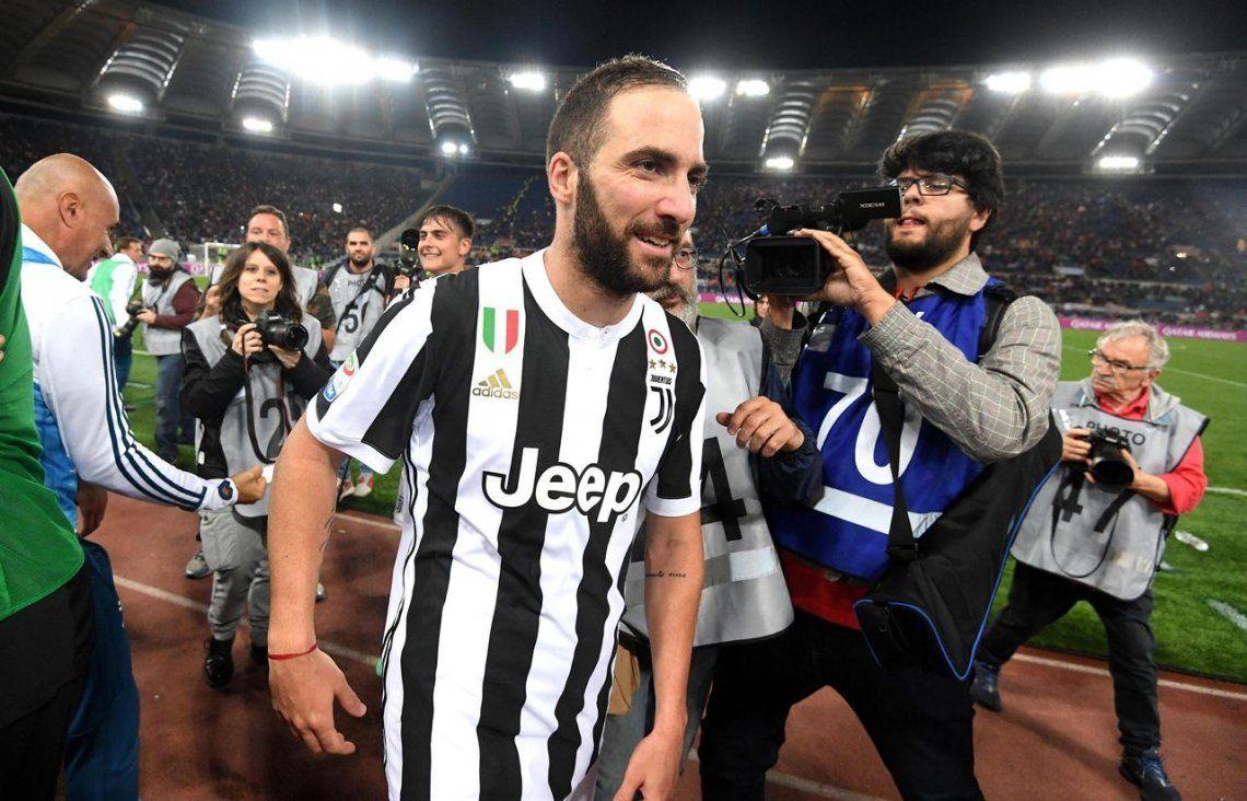 Con Higuaín y Dybala, Juventus ganó su séptimo Scudetto consecutivo