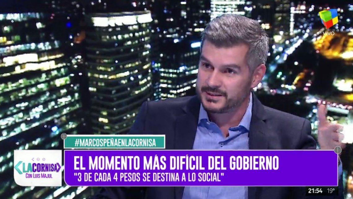 Marcos Peña: Perdimos un escalón de confianza