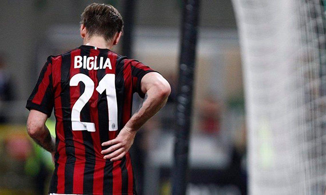 Biglia sufrió un desplazamiento lumbar y llegaría al Mundial de Rusia