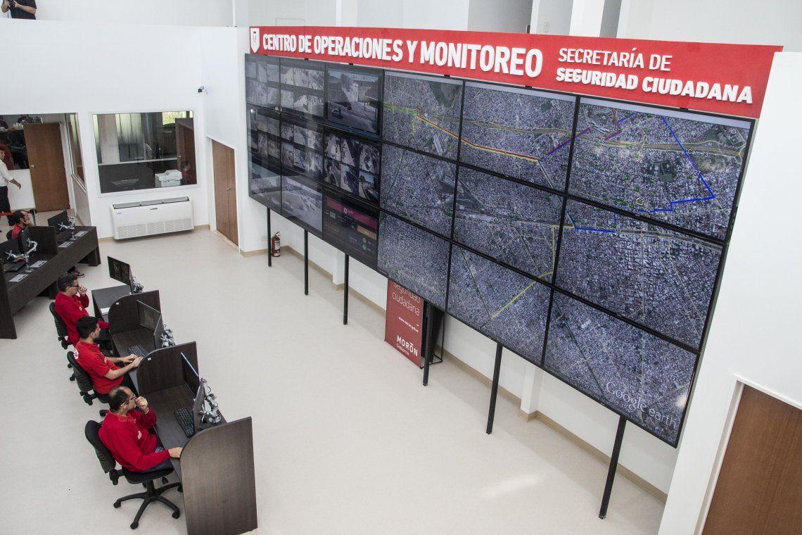 Morón: más de 150 casos esclarecidos por las cámaras de seguridad