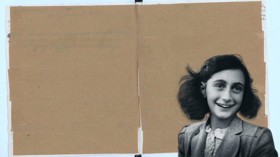 Descubren páginas inéditas del diario de Ana Frank: bromas pesadas y educación sexual