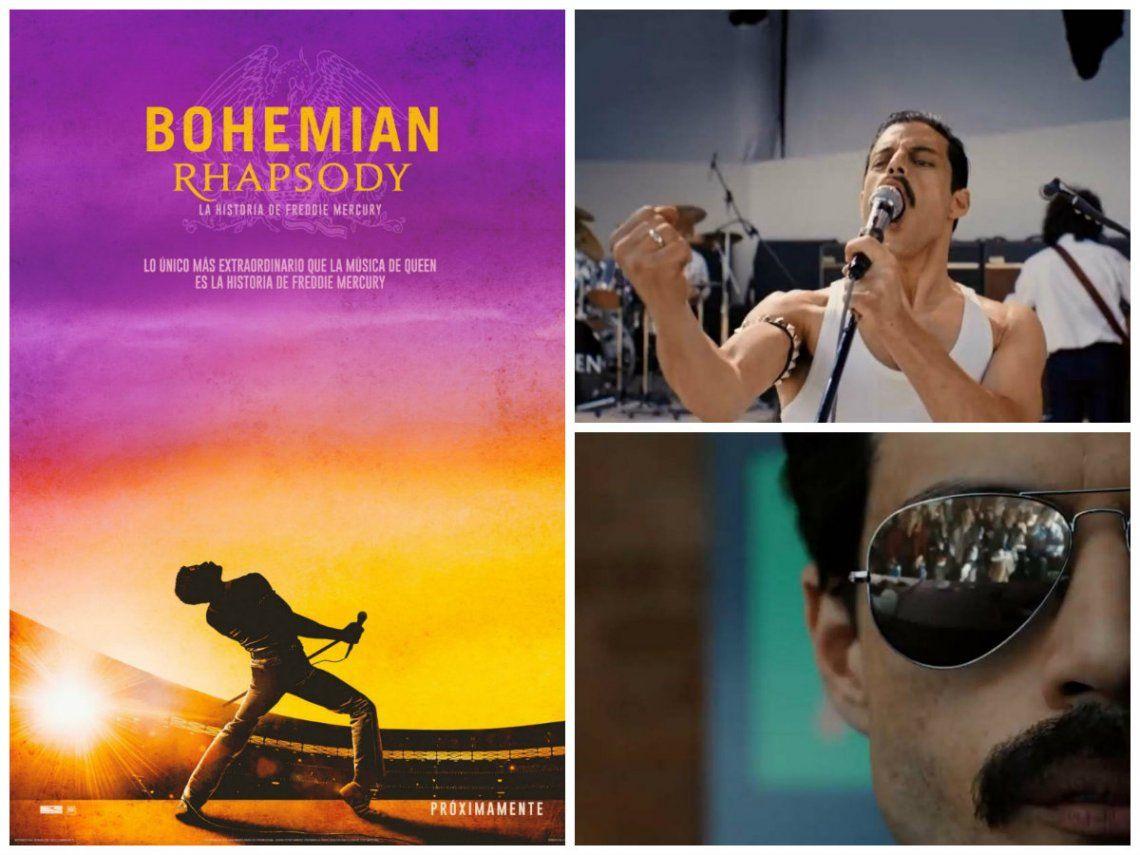 Mirá el primer tráiler de Bohemiam Rhapsody, la película dedicada a Freddie Mercury