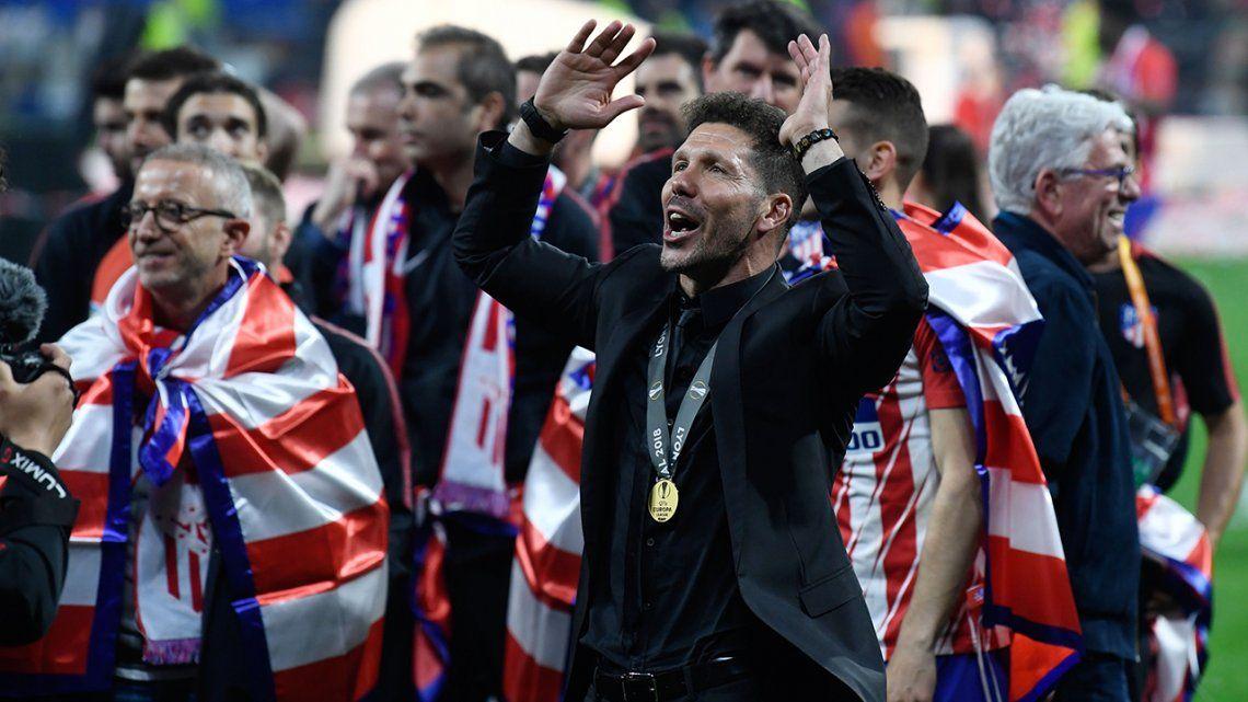 Europa League: el Atlético del Cholo Simeone nuevamente campeón