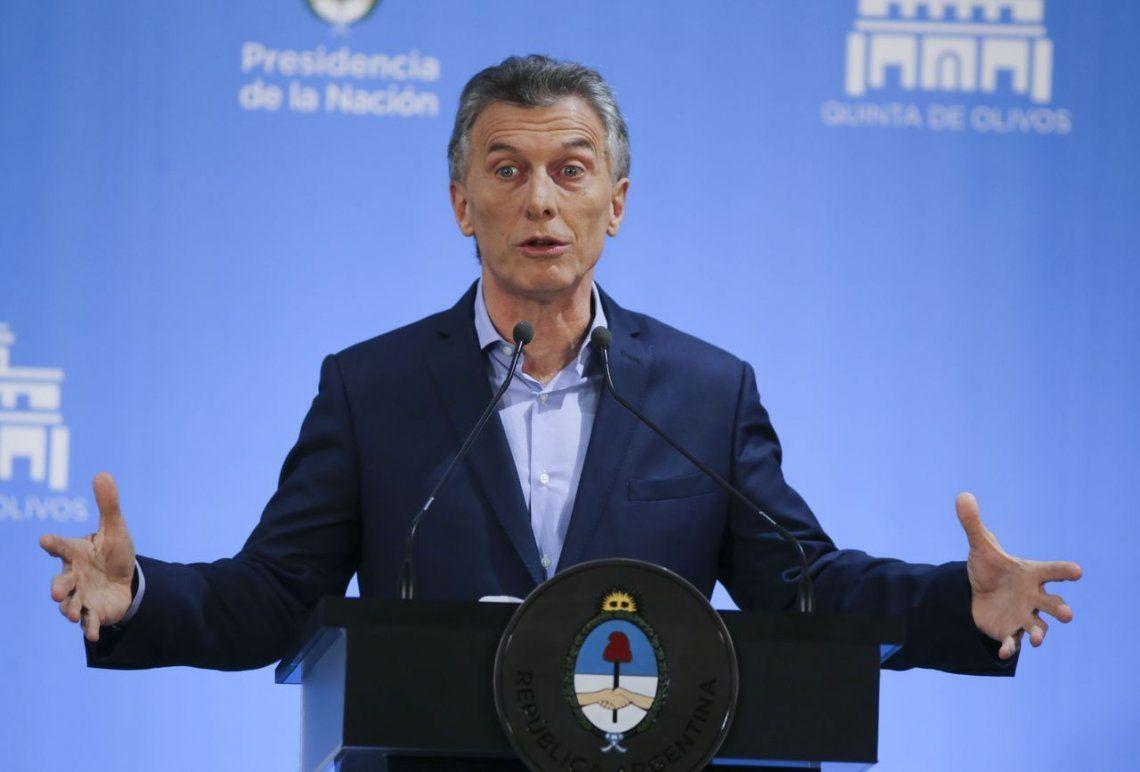 Macri volvió a cuestionar el proyecto para contener las tarifas que se trata en el Congreso