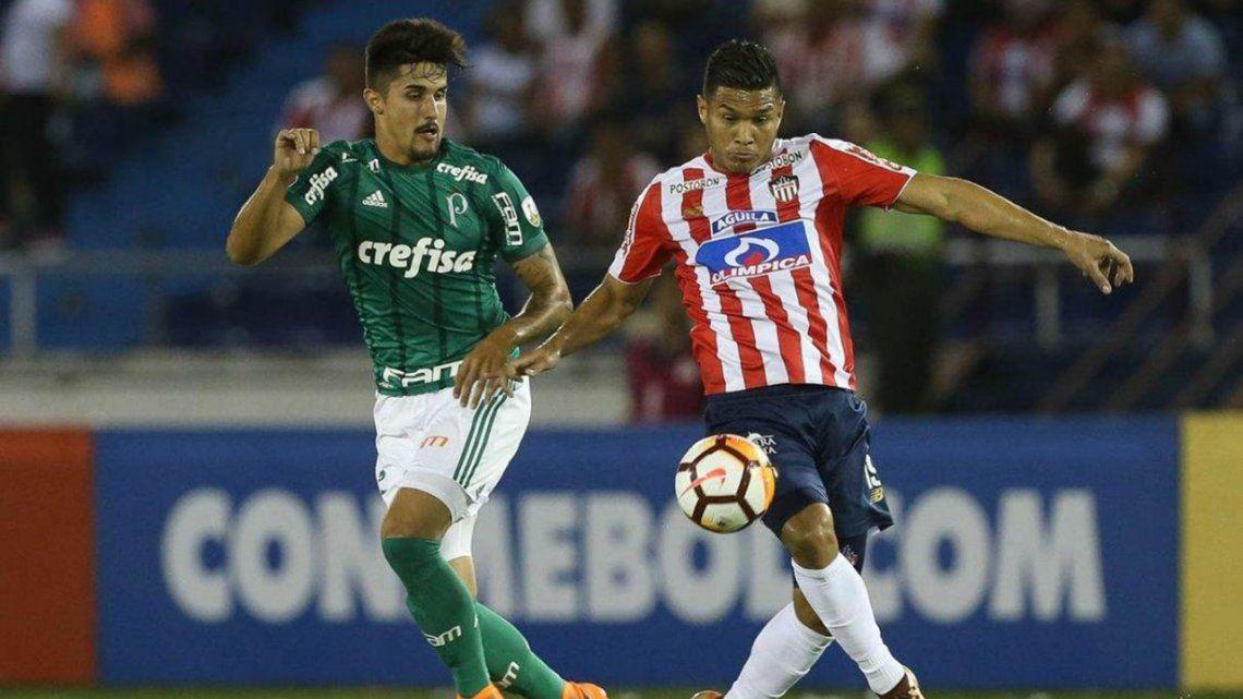 Palmeiras vence a Junior y le da la mano que necesita a Boca