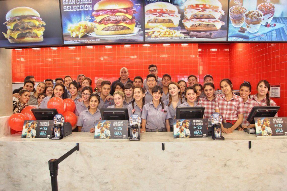Jóvenes de Quilmes cumplieron el sueño de su primer trabajo