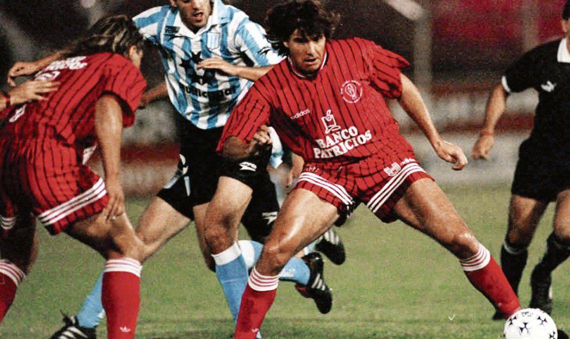 dGuerra llegó a Huracán en 1995 y también estuvo en 1997.