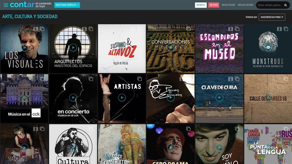 Conocé Cont.ar, la aplicación para ver gratis el Mundial desde el celular