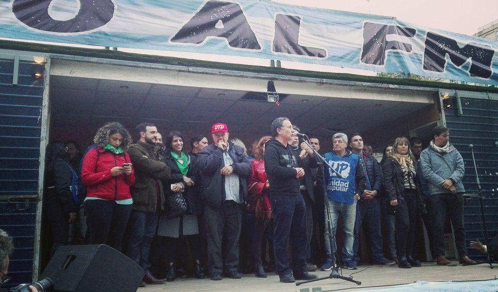 Durante movilización a Plaza de Mayo, organizaciones lanzaron nuevo espacio político