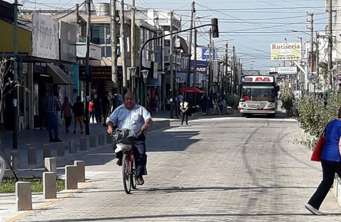 Remodelación de la calle Salta no dejó conformes a los comerciantes