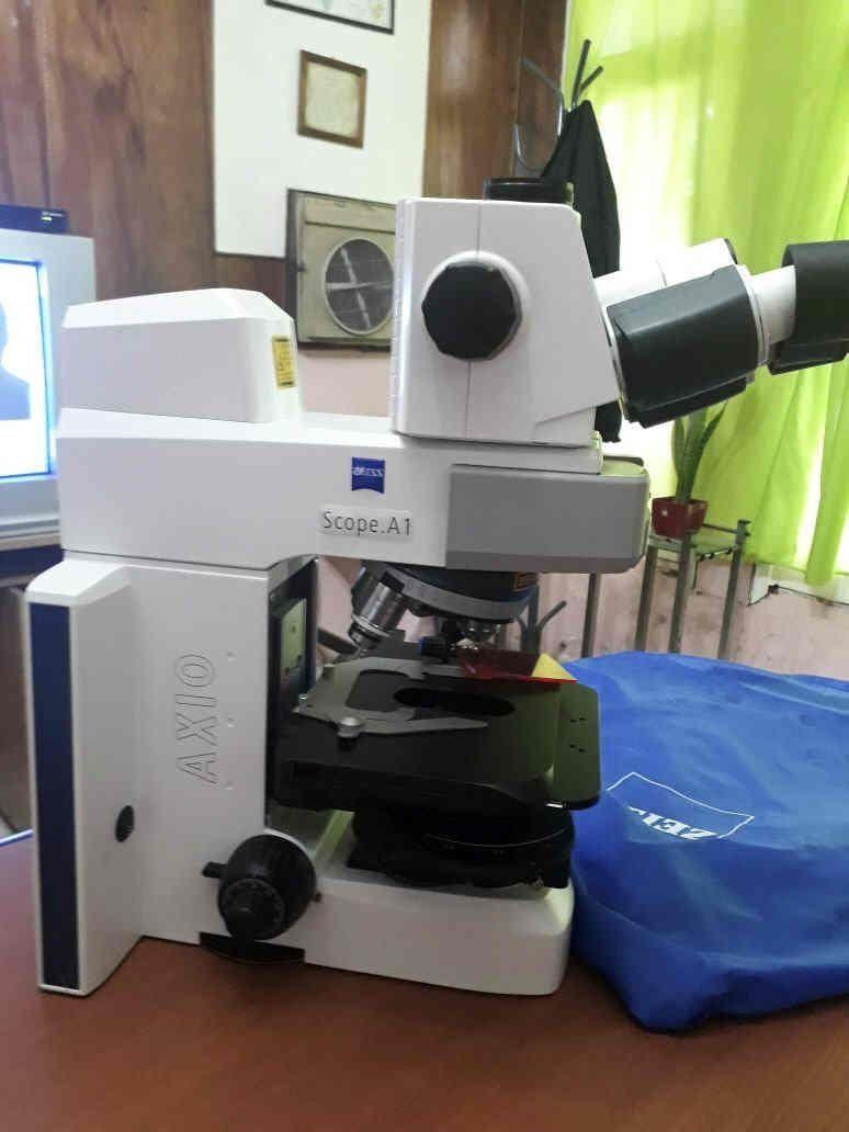 Apareció el microscopio de 15 mil dólares robado en la UBA