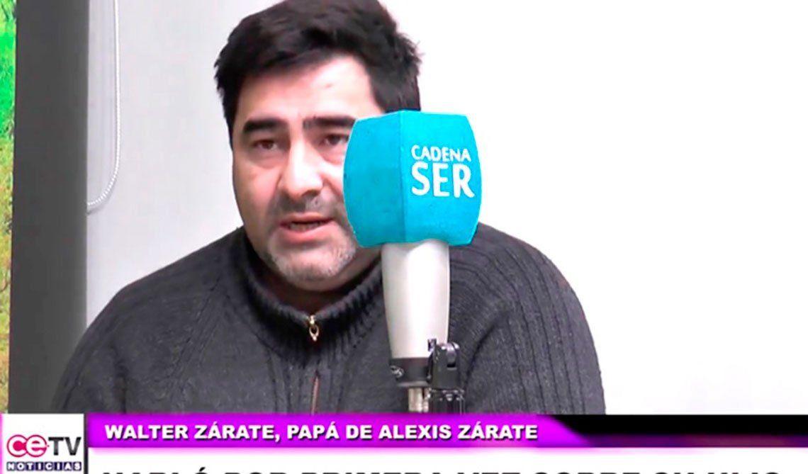 El padre de Alexis Zárate dijo que Giuliana Peralta no tiene ni una lesión