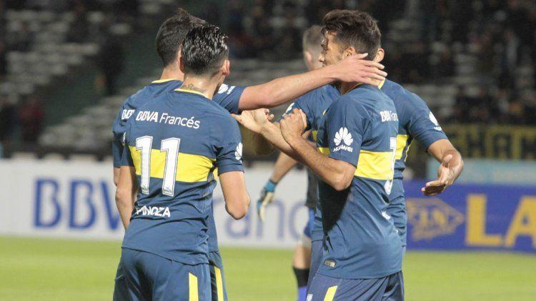 Boca festejó el título en la Superliga con un triunfo ante Talleres