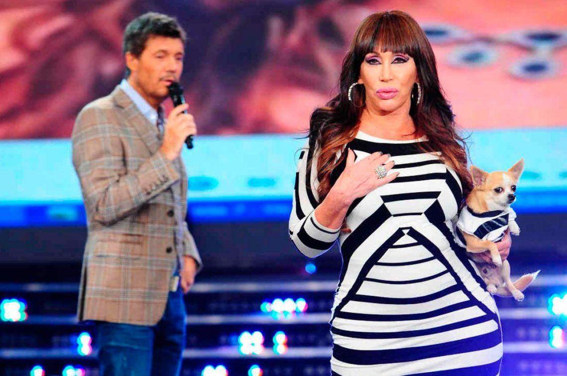 Moria reaccionó contra la provocación de Yanina Latorre