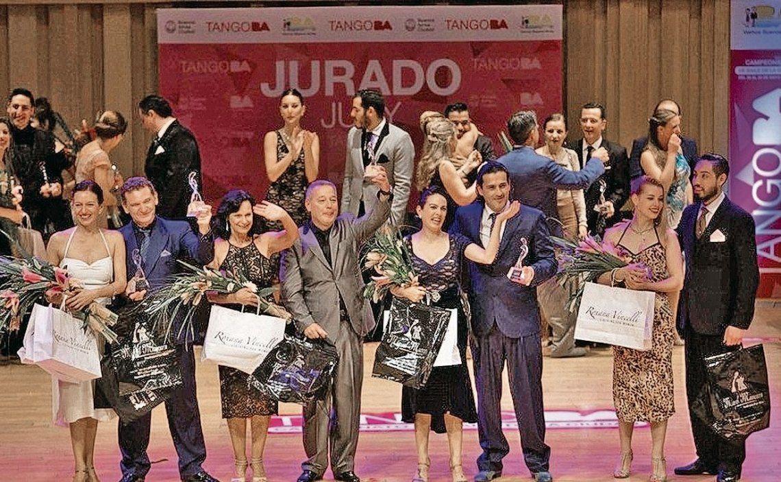 dLos ganadores de Tango Pista estarán en el Mundial de Baile en el Luna Park.
