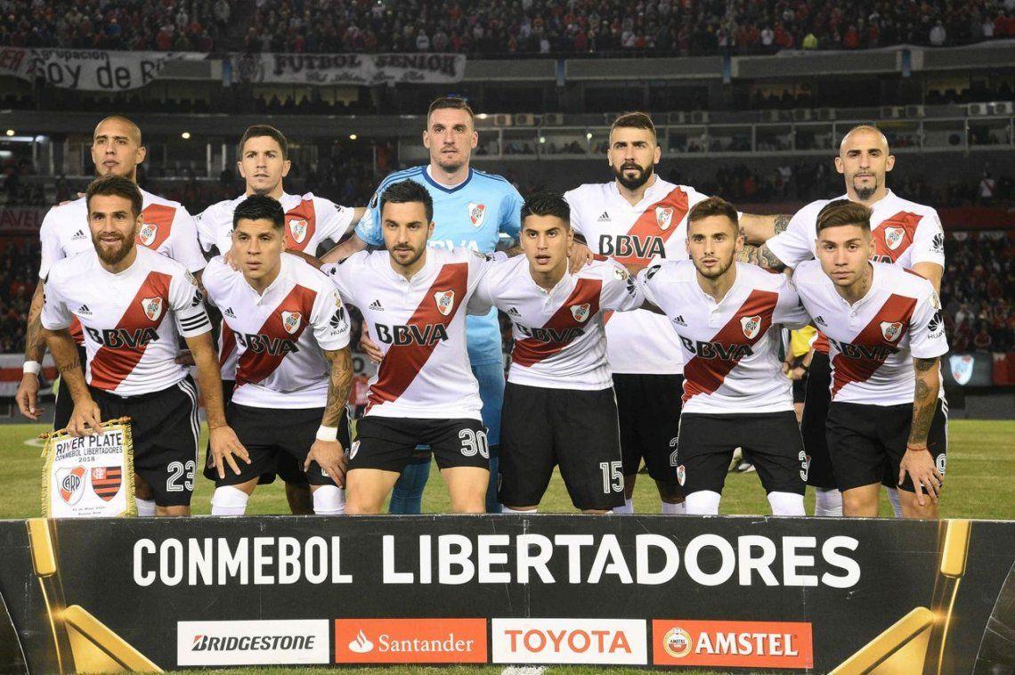 El uno X uno de River frente a Flamengo
