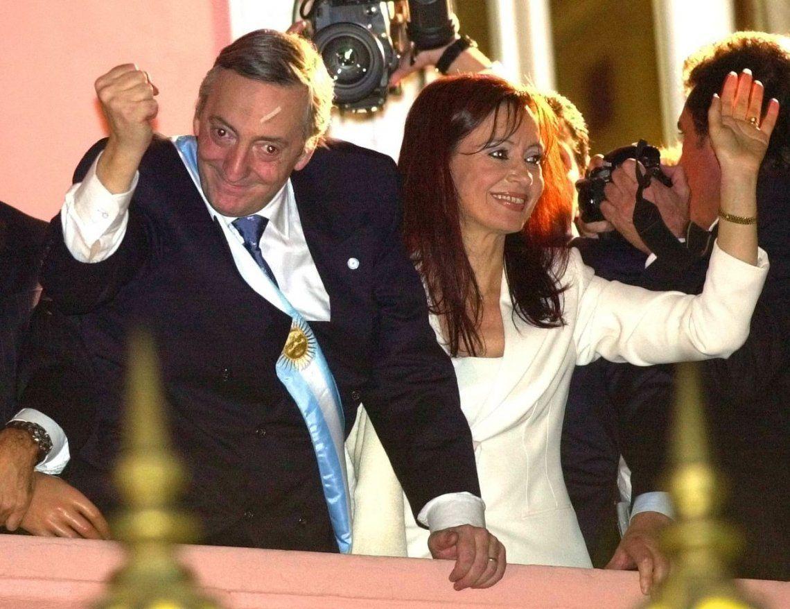 Cristina recordó en redes sociales los 17 años de la asunción de Néstor Kirchner