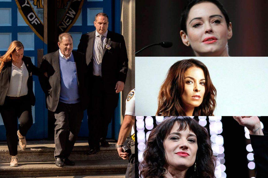¿Qué dijeron sobre el arresto de Weinstein algunas de las mujeres abusadas?