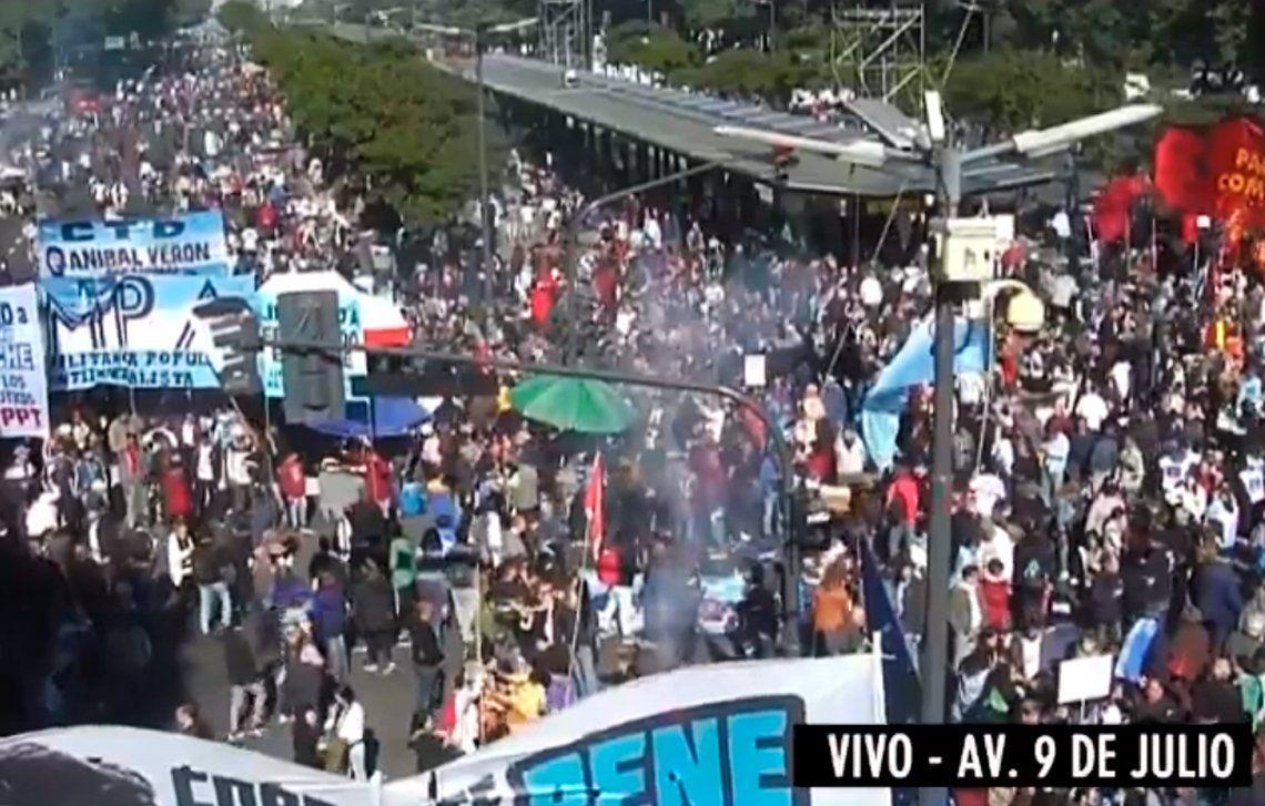 Convocan a una nueva marcha contra el FMI el 9 de Julio