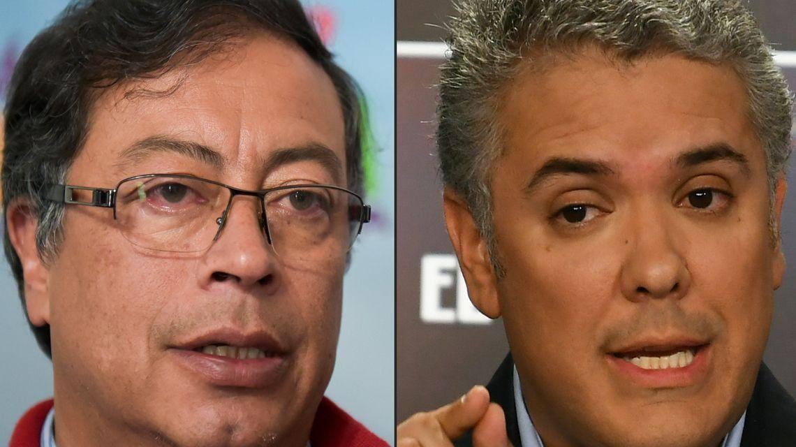 La izquierda llega a su primer balotaje en Colombia: Duque y Petro definen quién será presidente