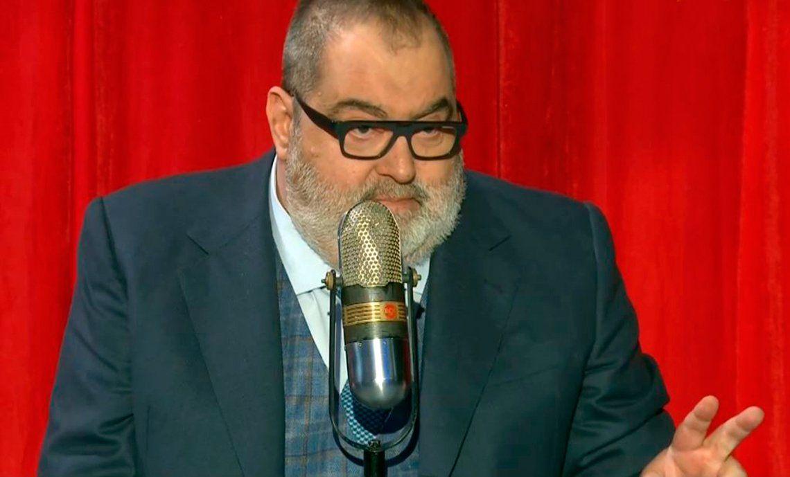 Lanata destrozó a Tinelli: No está preparado para ser presidente ni de un consorcio