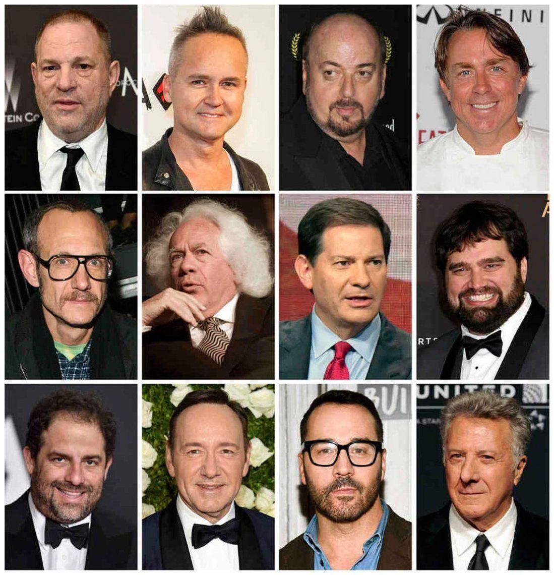 Hollywood: La interminable lista de acusados de acoso y abusos que podrían correr la misma suerte de Harvey Weinstein