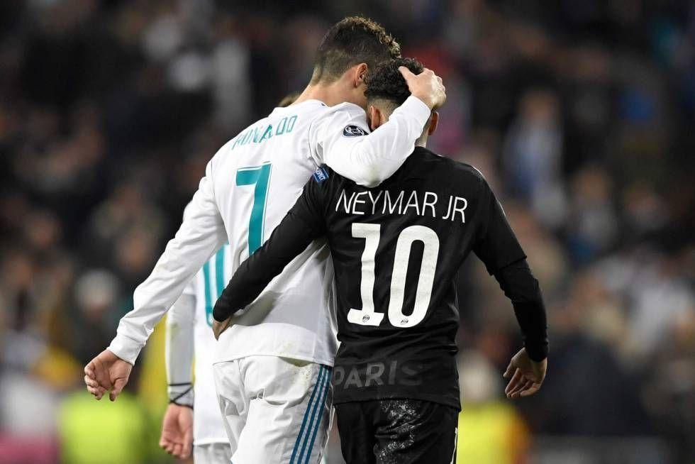 Cristiano Ronaldo y Neymar podrían ser intercambiados