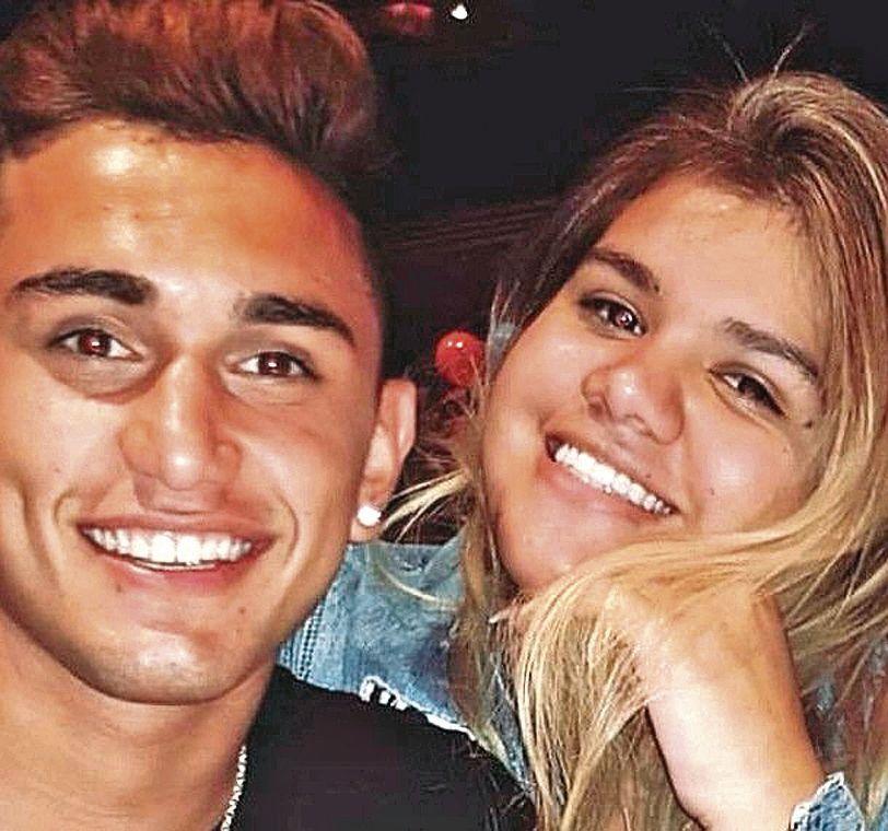 Morena Rial y su novio Facundo Ambrosioni.