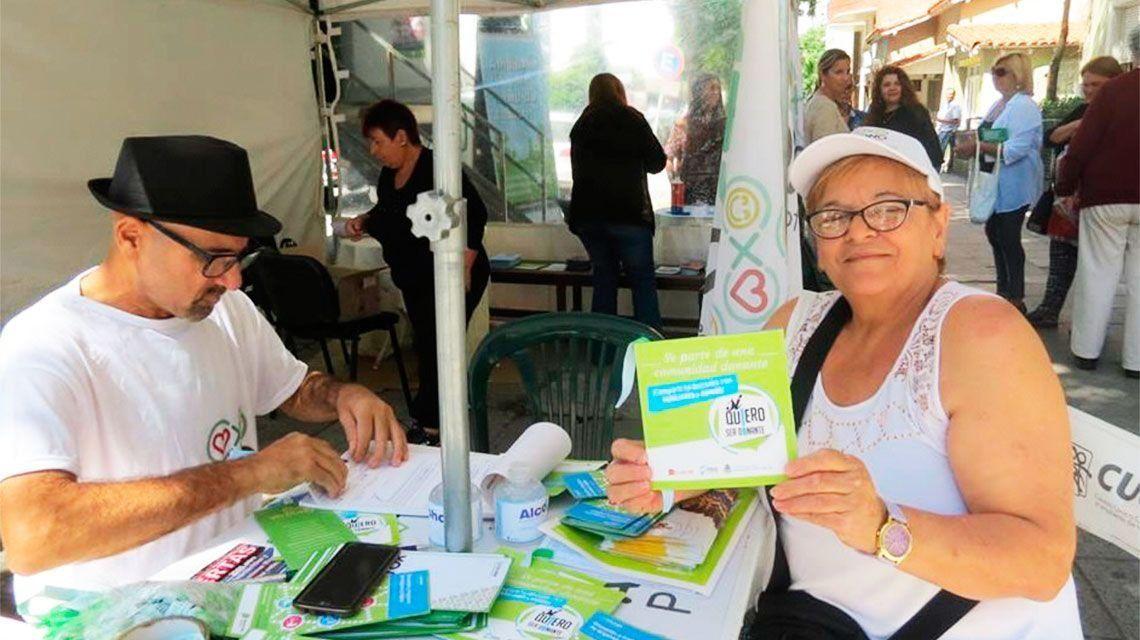 En un año, creció 123% la cantidad de argentinos que eligen ser donantes