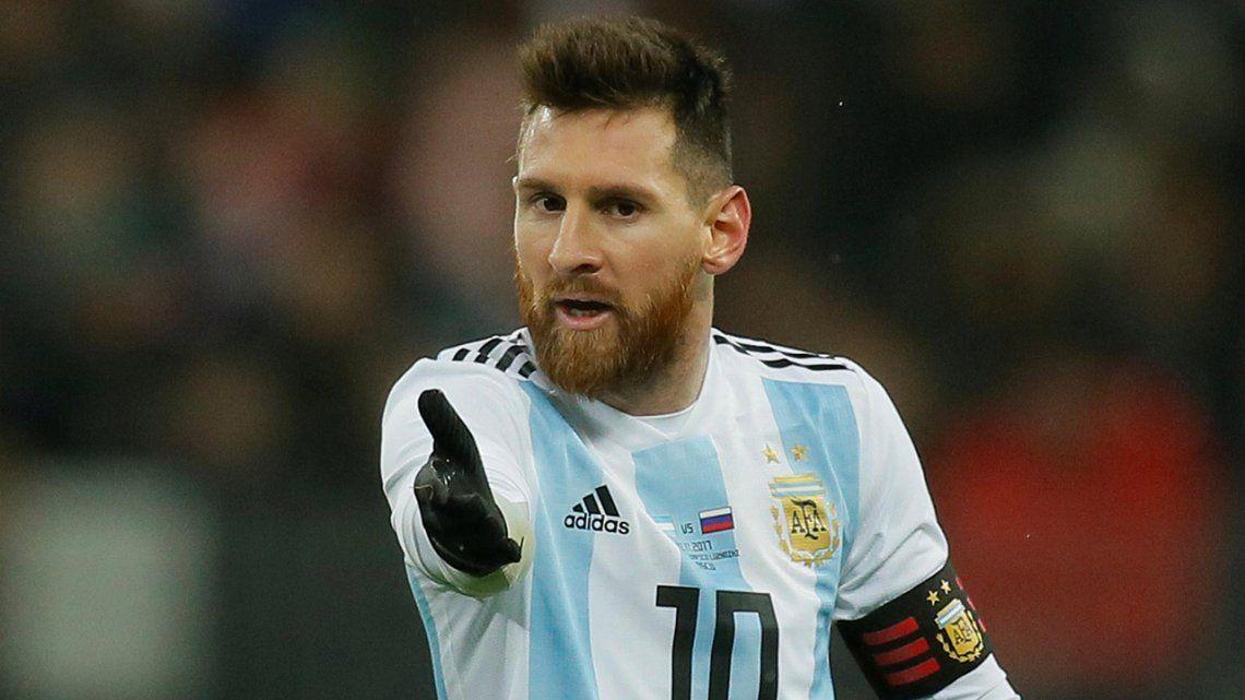 Palestina quemará camisetas de Messi por el amistoso con Israel