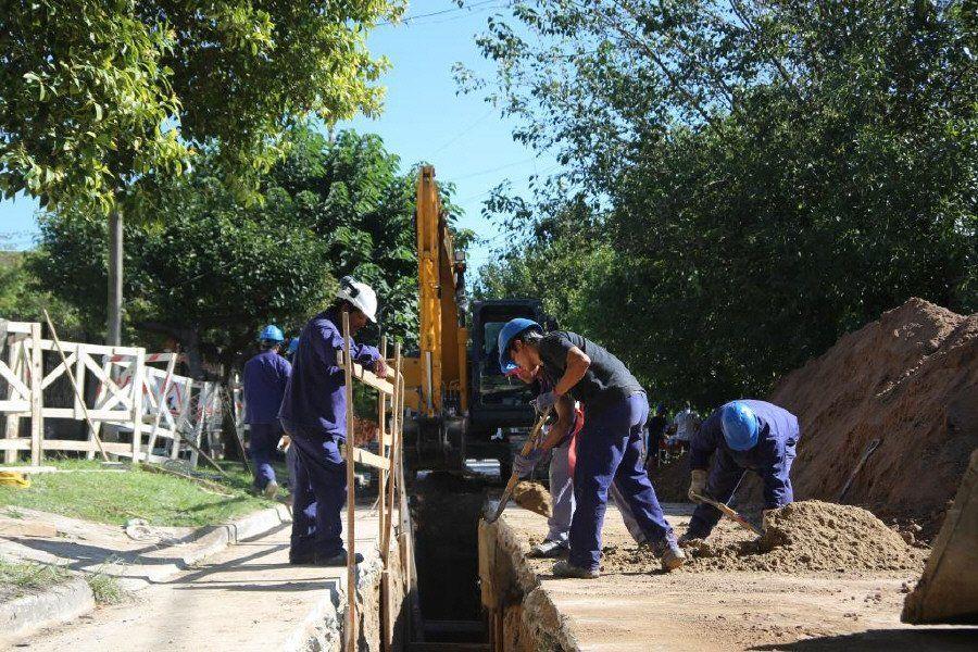 Terminaron red cloacal en Ituzaingó que beneficia a 9 mil vecinos