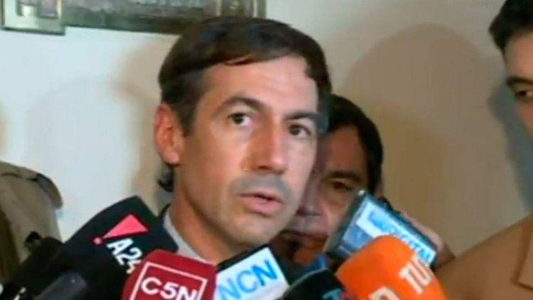El Presidente y todo el arco político se solidarizó con Luis Naidenoff
