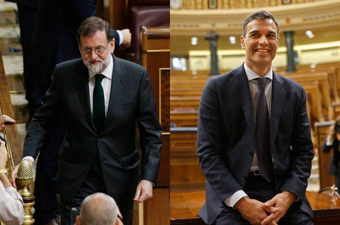 Removieron a Rajoy y el socialista Pedro Sánchez fue elegido como Presidente de Gobierno de España