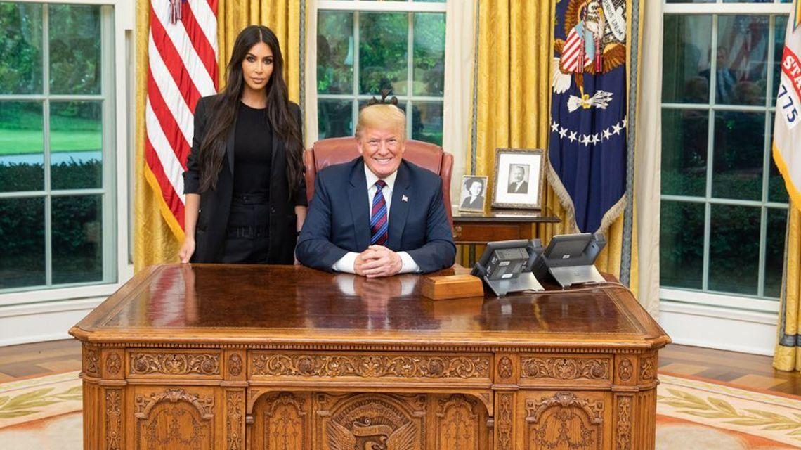 ¿Por qué se reunieron Kim Kardashian y Donald Trump?