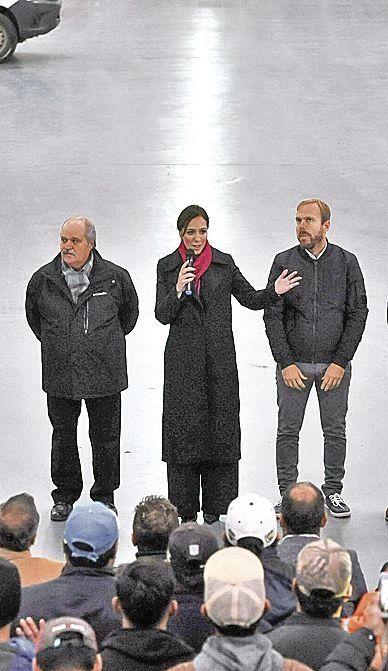 Vidal visitó el Centro Logístico Municipal de Ezeiza