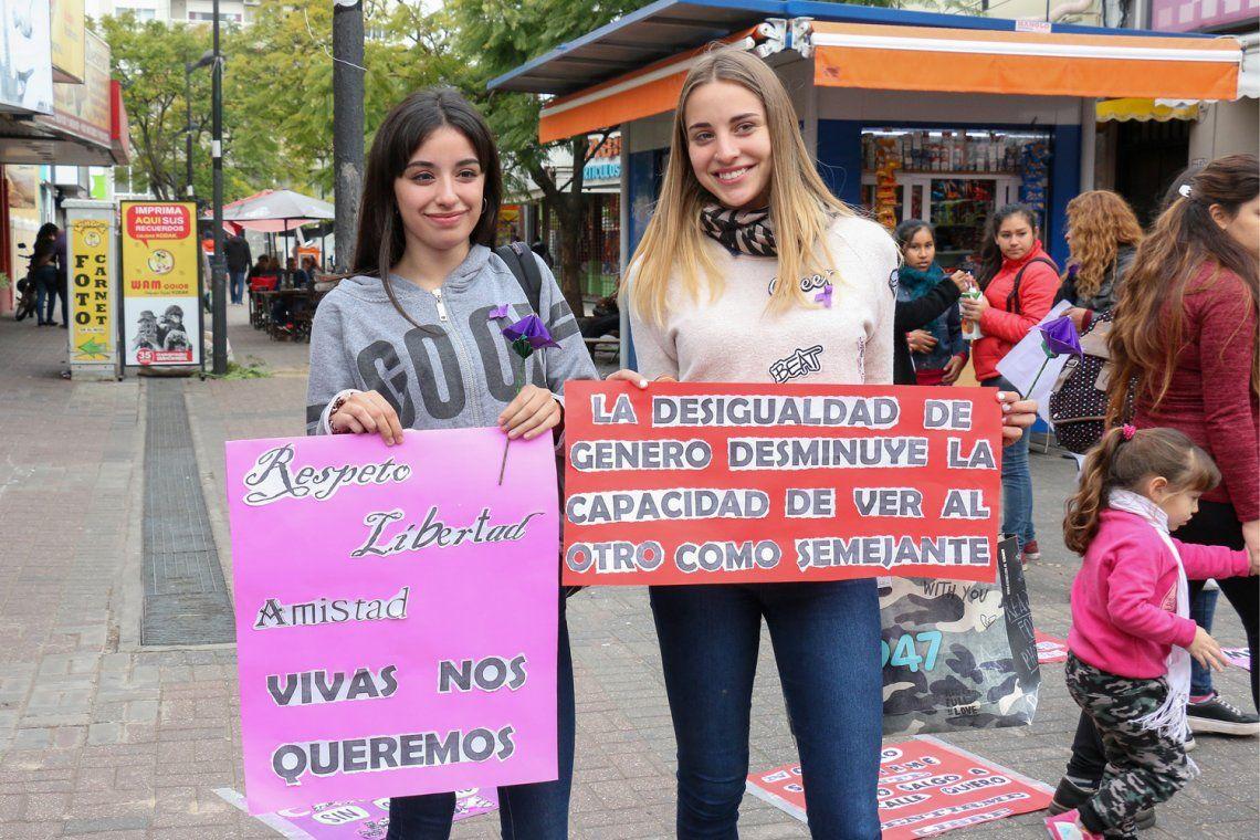 Jornadas sobre violencia de género en Berazategui
