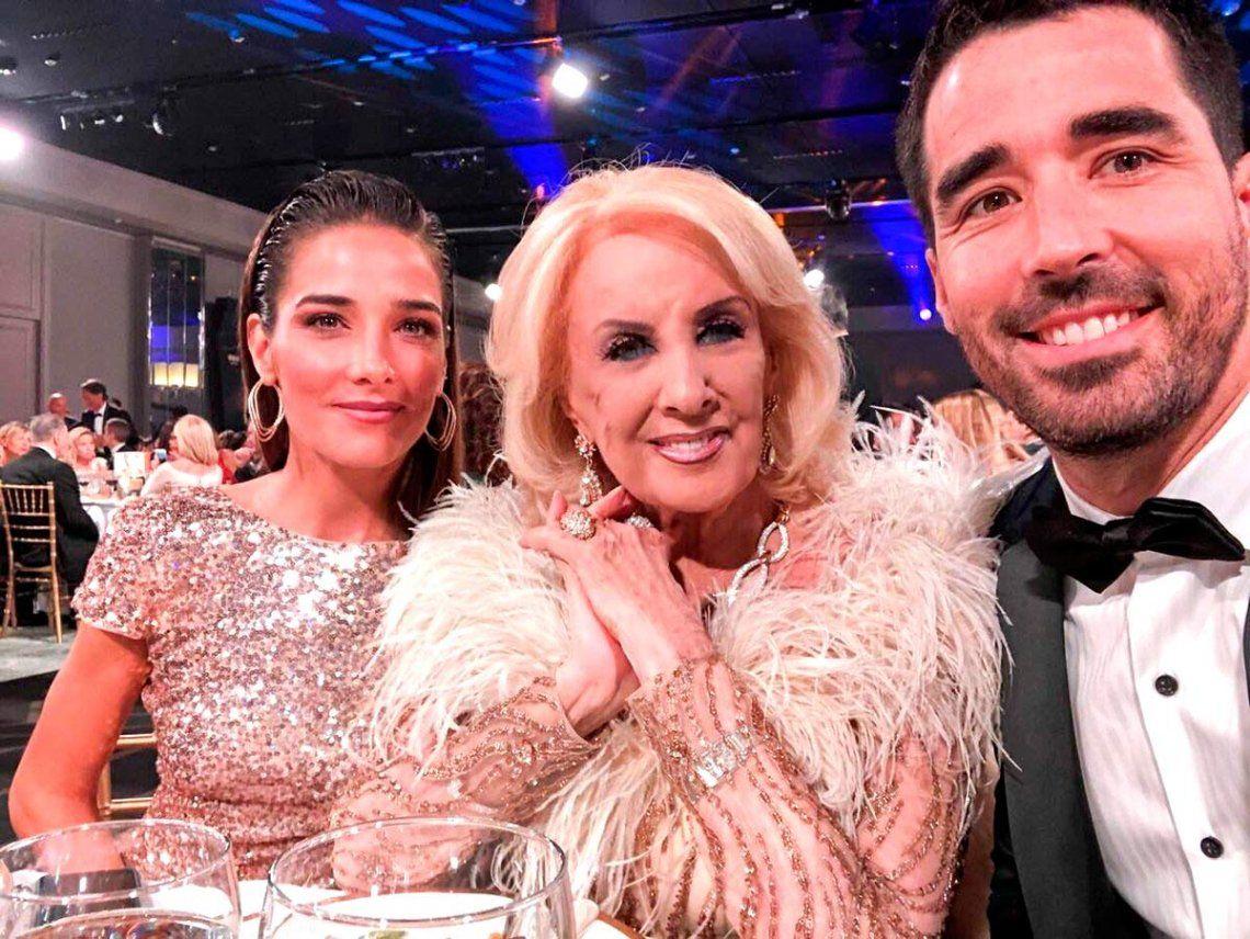 Martín Fierro: el homenaje por los 50 años de Mirtha Legrand en la TV
