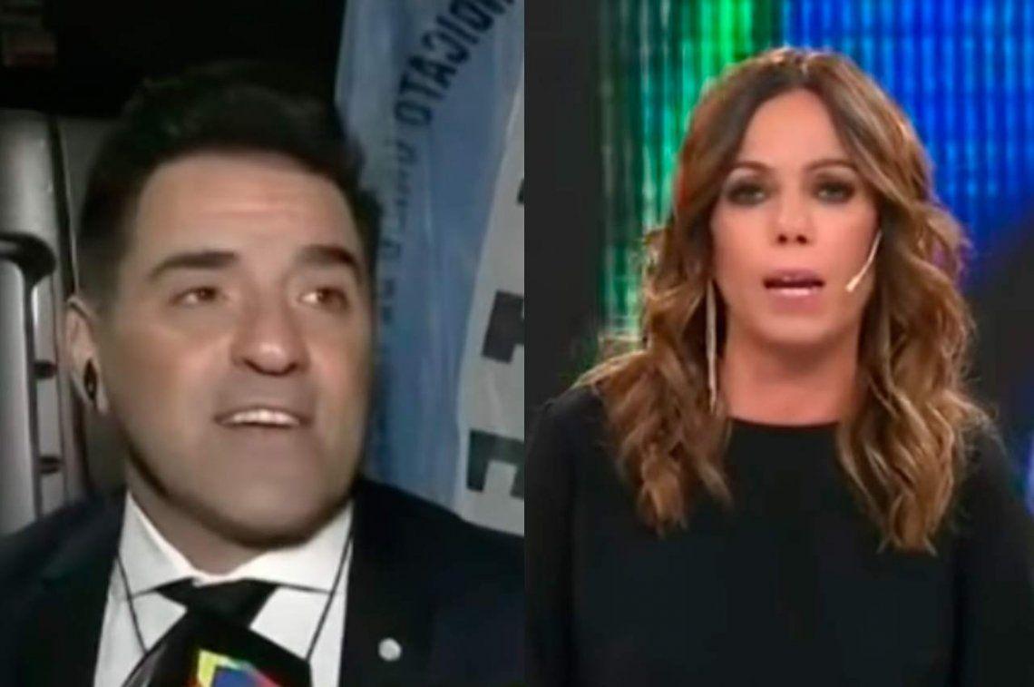 En vivo, Mariano Iúdica se disculpó con Pía Shaw por el episodio de acoso